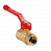 Кран шаровой латунный Стандарт 220 аналог 11б27п1 Ду40 ВР/ВР рычаг ГАЛЛОП
