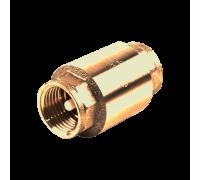 Клапан обратный латунь 3001 Py16 Ду20 ВР пружинный Aquasfera 3001-02