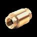 Клапан обратный латунь 3001 Py10 Ду50 ВР пружинный Aquasfera 3001-06