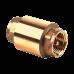 Клапан обратный латунь 3002 Py40 Ду25 ВР пружинный с лат/штоком Aquasfera 3002-03