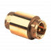 Клапан обратный латунь 3002 Ру40 Ду50 ВР пружинный с лат/штоком Aquasfera 3002-06