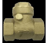 Клапан/затвор обратный латунь 3003 Ру40 Ду20 ВР с лат/уплотнение Aquasfera 3003-02