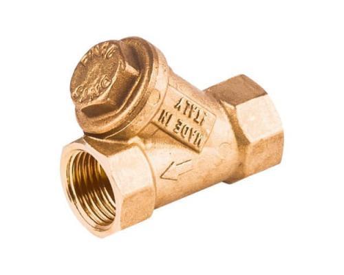 Фильтр латунный сетчатый R74A Ду50 Ру30 м/м R74AY108 Giacomini
