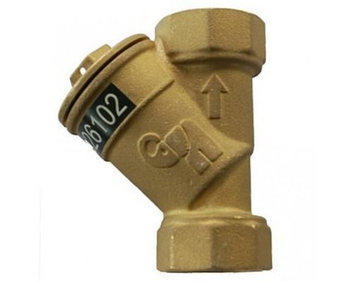 Фильтр латунный  ФСП Ду25 Ру16 м/м Водоприбор