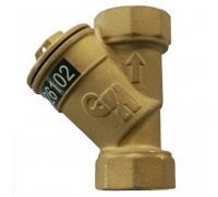 Фильтр латунный  ФСП Ду20 Ру16 м/м Водоприбор