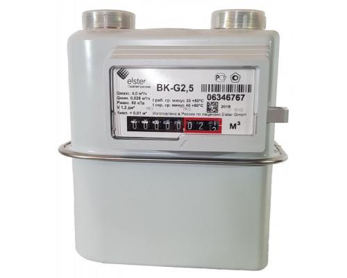 Газовый счетчик BK G2,5 левый