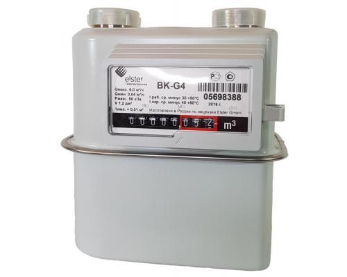 Газовый счетчик BK G4 левый