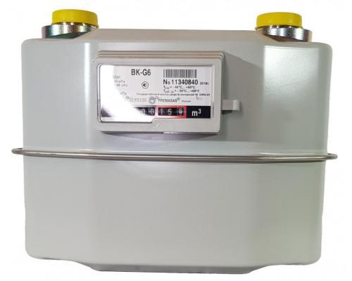 Газовый счетчик BK G6 (200мм) левый