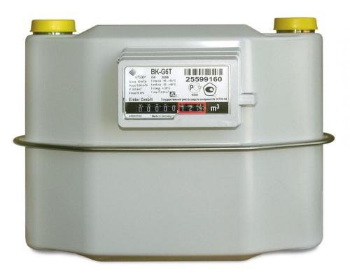 Газовый счетчик BK G6Т (250мм) правый