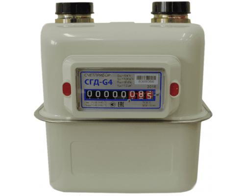 Газовый счетчик СГД 4 левый (G 1 ¼)
