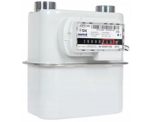 Газовый счетчик Metrix G4Т левый