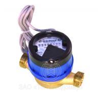 Счетчик воды ВСХд-20 с импульсным выходом  (1л/имп) класс С