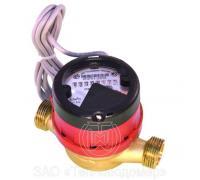 Счетчик горячей воды ВСГд-20, с импульсным выходом (1л/имп)