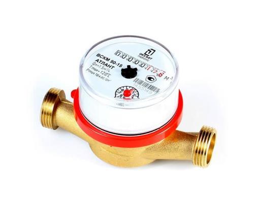 Счетчик воды  ВСКМ 90-15 80 мм, с монтажными частями и обратным клапаном