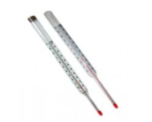 Термометр керосиновый прямой L=66мм 100C ТТЖ-М Стеклоприбор