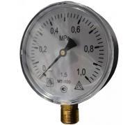 Манометр технический МТ-100 G 1/2 4,0 Мпа