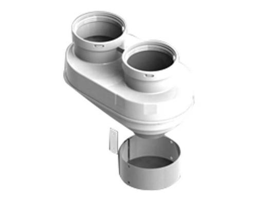 Адаптер для дымохода Ø80/80, turboFIT, котлы газовые откр камера Vaillant