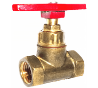 Клапан запорный латунь 15б1п Ру16 Ду40 ВР прямой ТУ РБ 500059277.015-2000 Цветлит