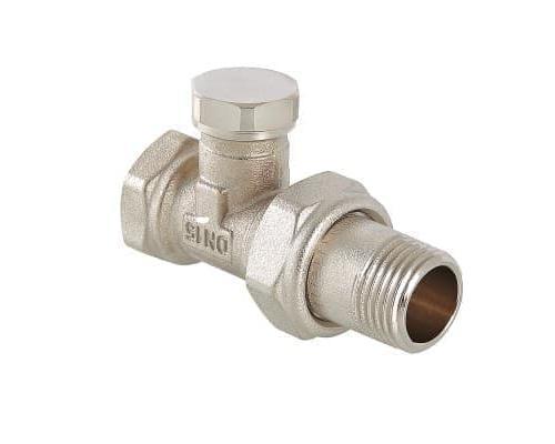 Клапан настроечный (запорный) прямой 1/2  VT.020.N.04  VALTEC
