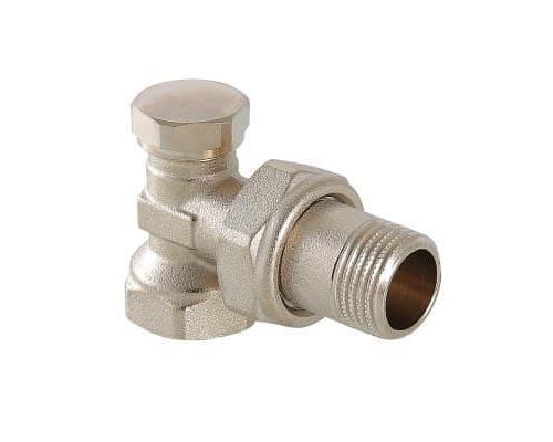 Клапан настроечный (запорный) угловой 1/2  VT.019.N.04  VALTEC