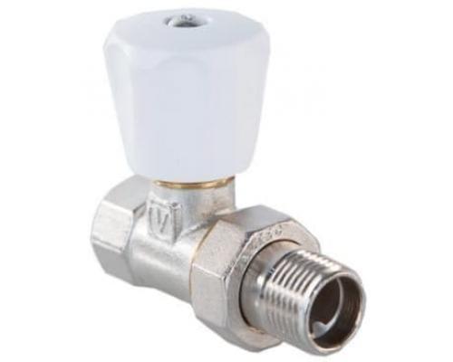 Клапан ручной прямой 1/2 (компактный) VT.008.LN.04 VALTEC