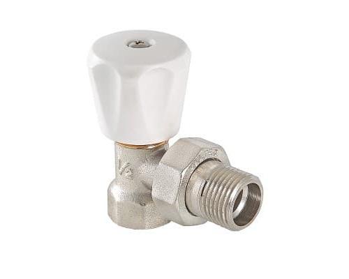 Клапан ручной угловой 1/2 (компактный) VT.007.LN.04 VALTEC