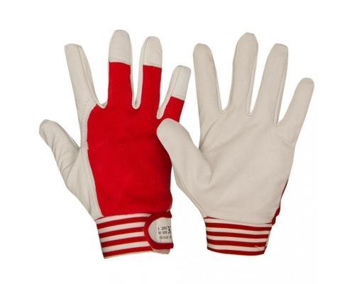 Перчатки кожаные комбинированные TETU