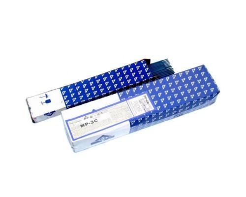 Электроды сварочные МР-3С 4,0мм ГОСТ 9466-75 синяя обмазка ЛЭЗ