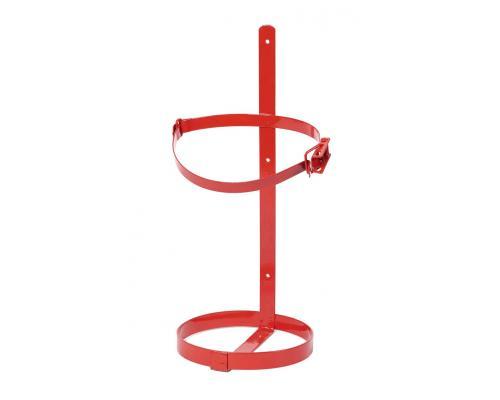 Крепление (кронштейн) для огнетушителей ТВ-8 с металлической защелкой