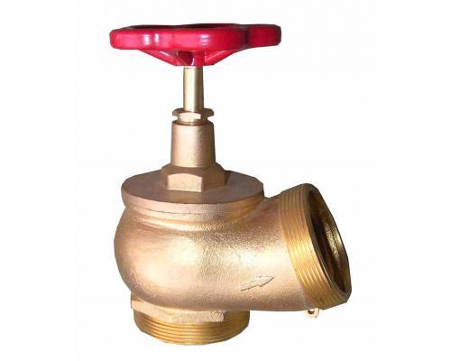 Клапан КПЛ 50-2 латунный 125° цапка - цапка