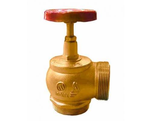 Клапан КПЛМ 65-2 латунный 90° цапка - цапка