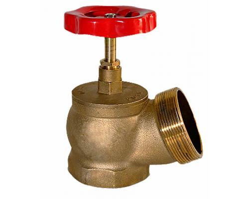 Клапан КПЛ 65-1 латунный 125° муфта - цапка