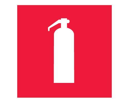 Знак F 04 - Огнетушитель