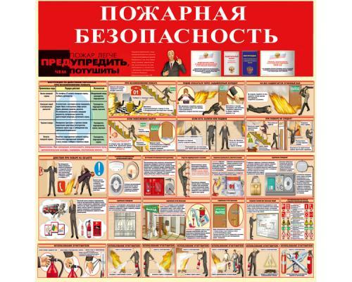 """Стенд """"Пожарная безопасность"""" СТ-018"""