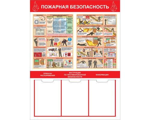 """Стенд """"Пожарная безопасность"""" СТ-192"""