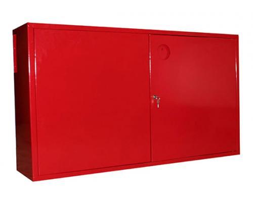 Щит пожарный закрытый металлический, двери без окон (без компл.)