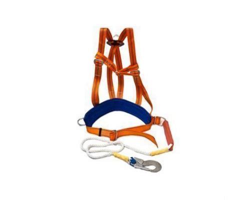 Привязь УПС 2 Д + строп аВ / ПП 2 аВД (наплечные лямки, строп полиамидный канат с амортизатором)