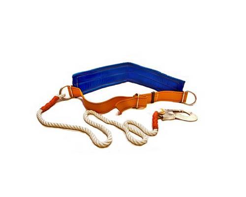 Привязь УП 1Б / ПП 1Б (безлямочная, строп металлический трос в оболочке)