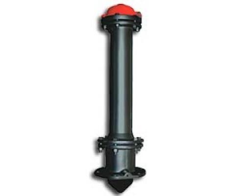 Гидрант пожарный (стальной корпус) L = 2,75 м