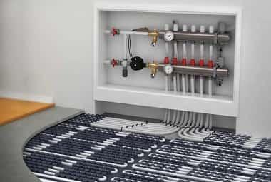 водяной теплый пол в квартире