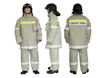 защитное снаряжение пожарного